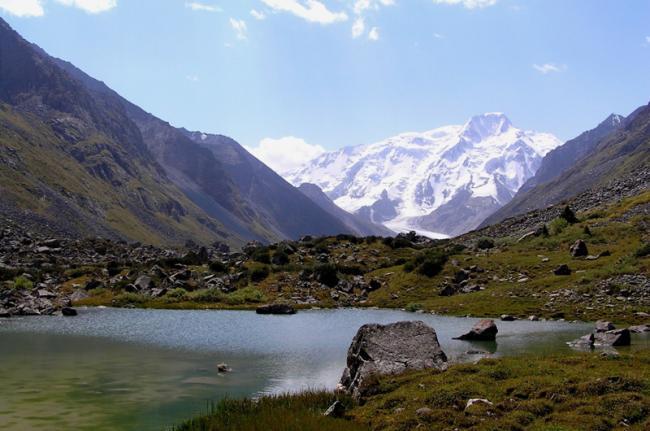 Lago Ala-Kul, Kirguistán