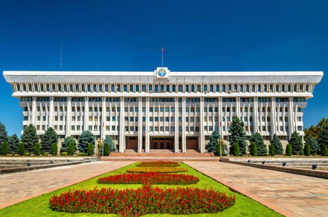 Parlamento, Biskek, Kirguistán