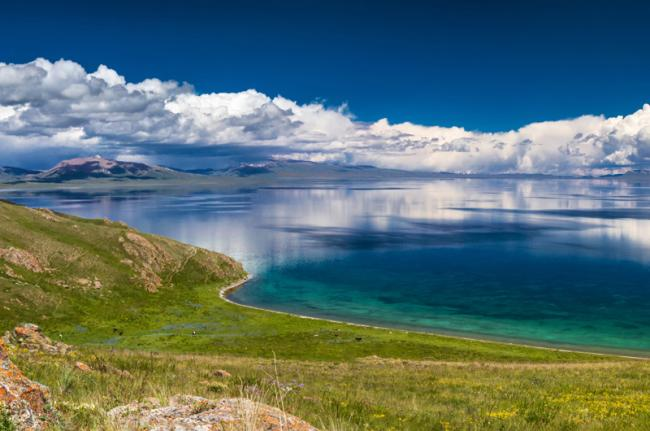 Lago Song-Kul, Kirguistán
