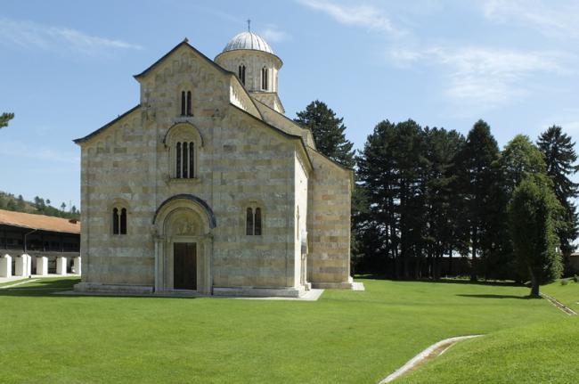 Monasterio de Visoki Dechani, Kosovo