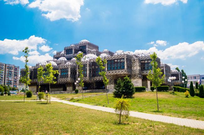 Biblioteca Nacional, Pristina, Kosovo