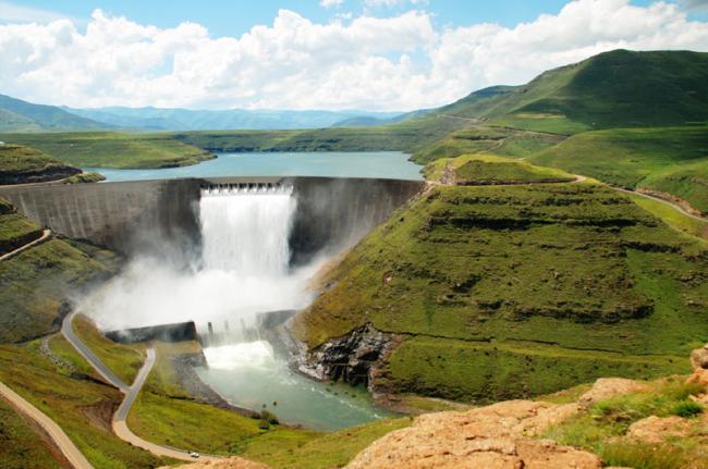 Presa de Katse, Lesoto