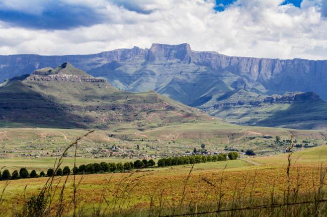 Ukhahlamba-Drakensberg, Sani Top, Lesoto