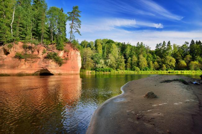 Parque Nacional de Gauja, Letonia