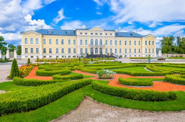 Palacio de Rundāle, Letonia
