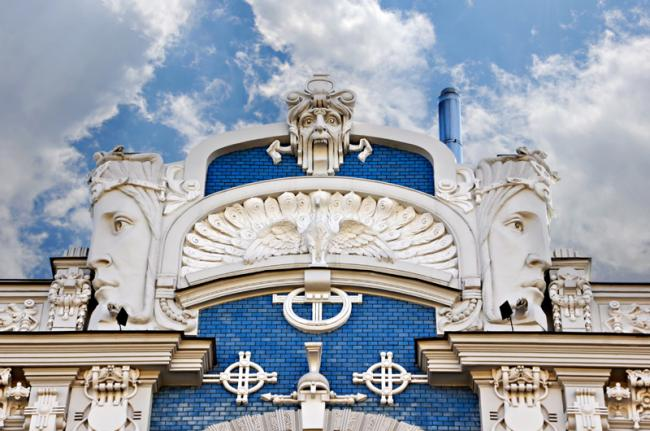 Arquitectura 'art nouveau' de Riga, Letonia