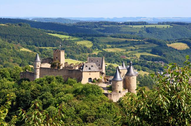 Château de Bourscheid, Luxemburgo