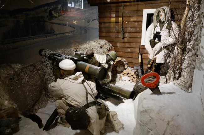 Musée National d'Histoire Militaire, Diekirch, Luxemburgo