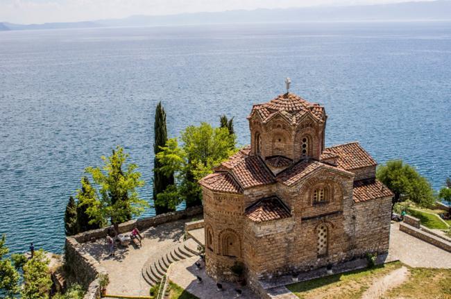 Iglesia de Sveti Jovan, Kaneo, Macedonia