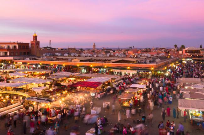 Djemaa el-Fna, Marrakech, Marruecos