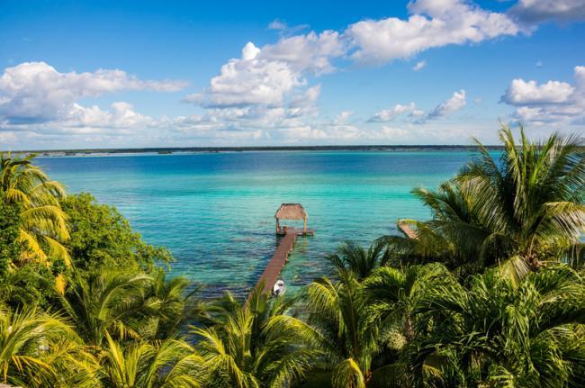 Bacalar, costa maya, México