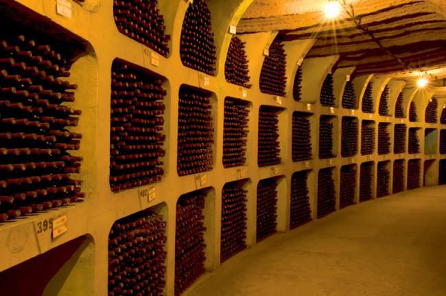 Bodega de vino, Cricova, Moldavia