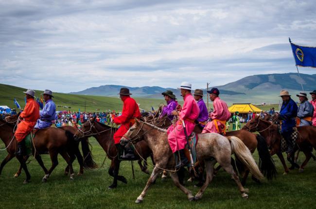 Festival del Naadam, Mongolia