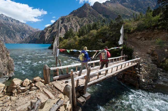 Aguas bravas del río Karnali, Nepal