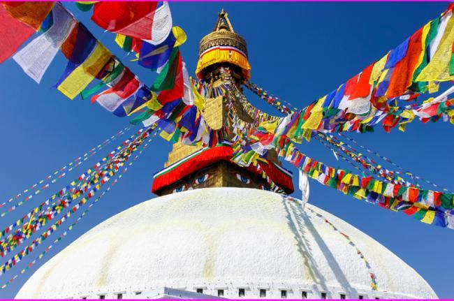 'Stupa' de Bodhnath, Nepal