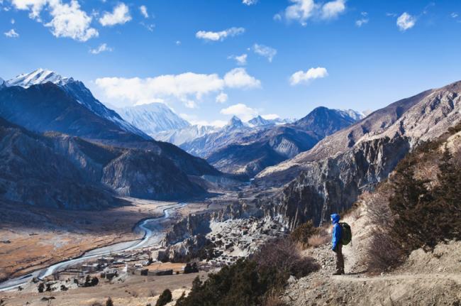 'Trekking' por el Annapurna, Nepal