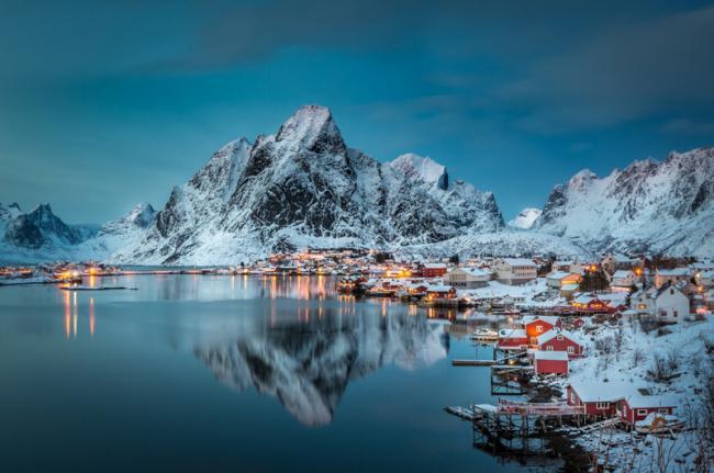 Reine, Islas Lofoten, Noruega