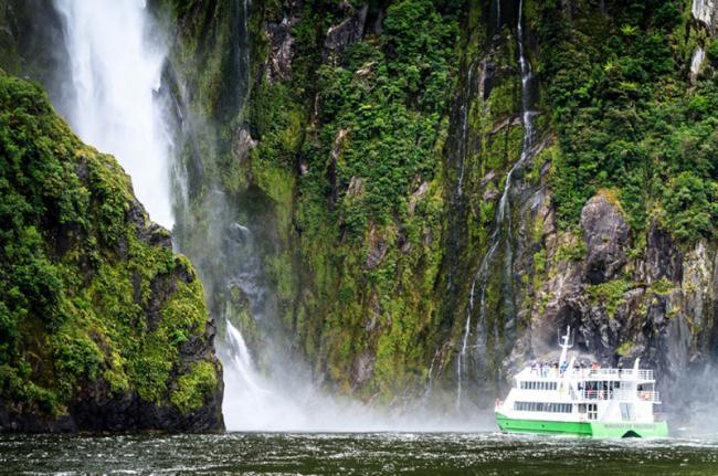 Milford Sound, Fiordland National Park, Nueva Zelanda