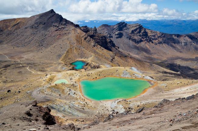 Lago Esmeralda, Tongariro National Park, Nueva Zelanda