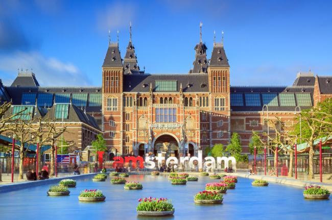 Rijksmuseum, Ámsterdam, Países Bajos