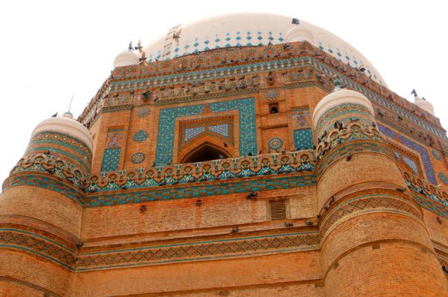 Mausoleo del jeque Rukn-i-Alam, santuarios sufí de Multan, Pakistán
