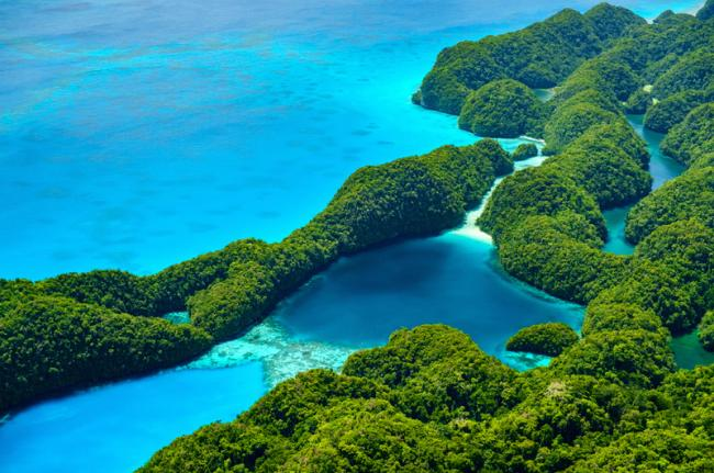 Islas Rocosas, Palaos