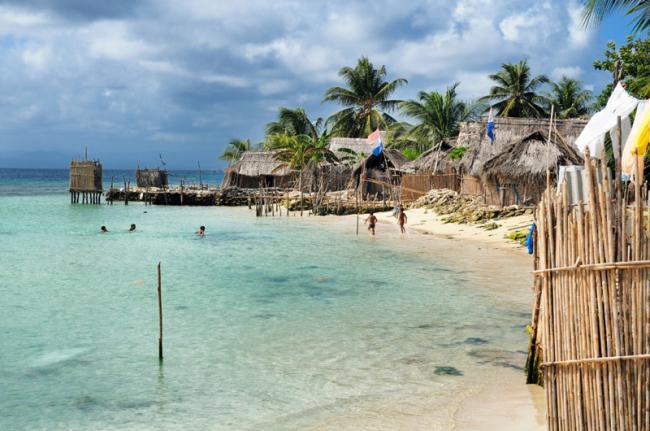Isla Nalunega, arqchipiélago de San Blas, Panamá