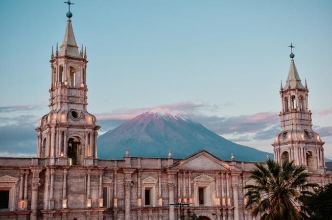 Catedral de Arequipa, Perú