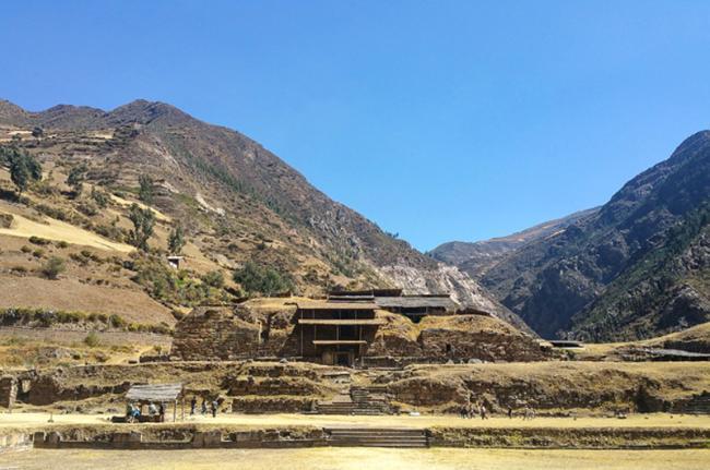 Chavín de Huántar, Perú