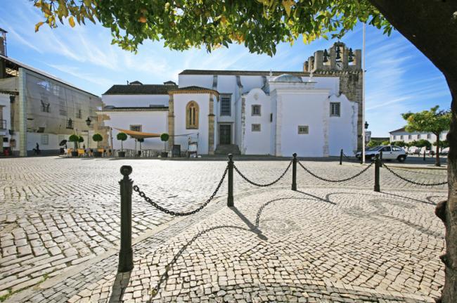 La 'sé' de Faro, Algarve, Portugal