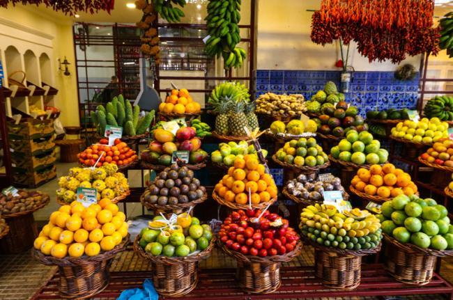 Mercado dos Lavradores, Funchal, Madeira, Portugal