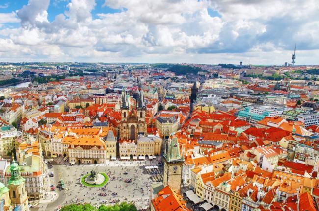 Plaza de Wenceslao, Praga, República Checa