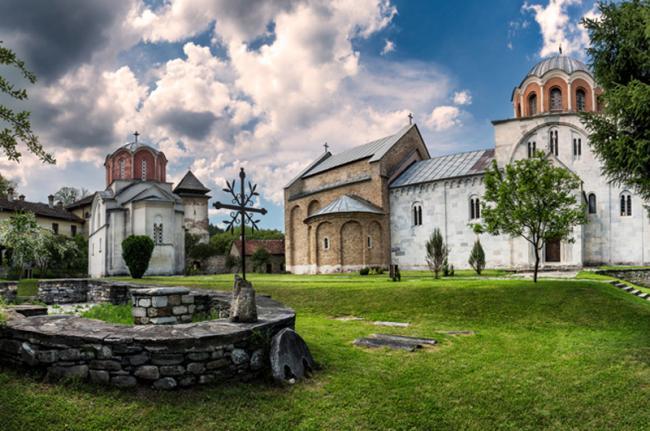 Monasterio de Studenica, Serbia