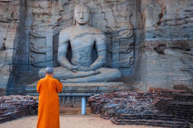 Ruinas en Polonnaruwa, Sri Lanka