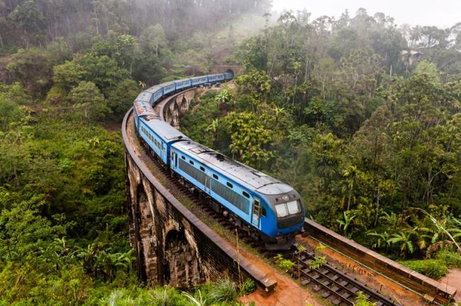 Tren a Ella, Sri Lanka
