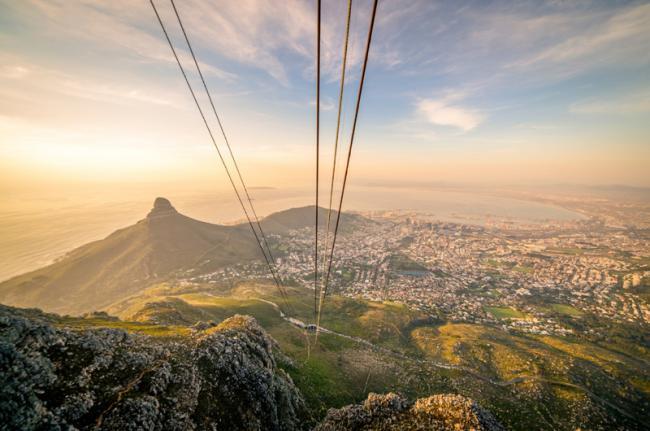Montaña de la Mesa, Ciudad del Cabo, Sudáfrica