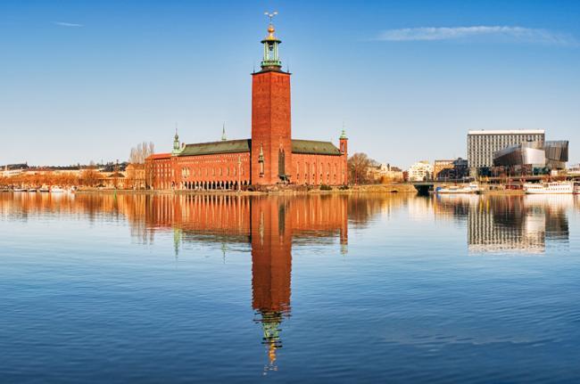 Stadshuset, Estocolmo, Suecia