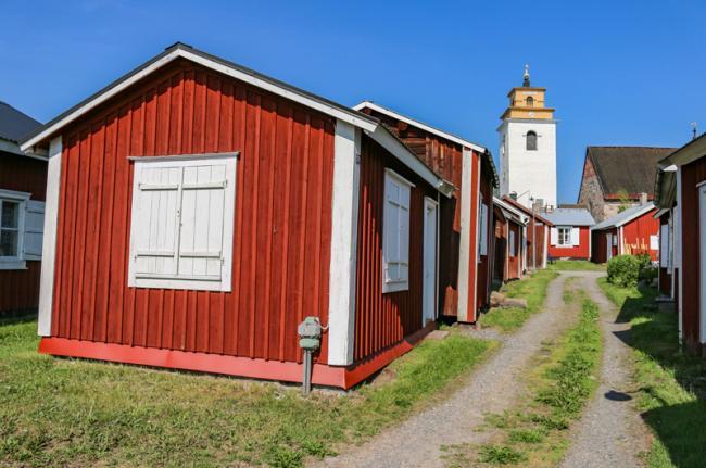 Luleå, Gammelstad, Suecia