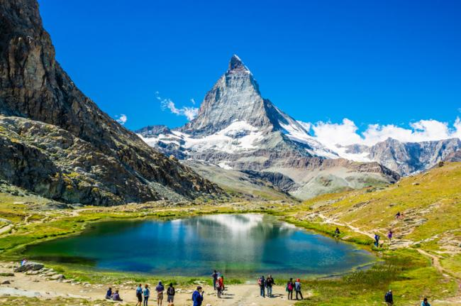 Monte Cervino, Suiza