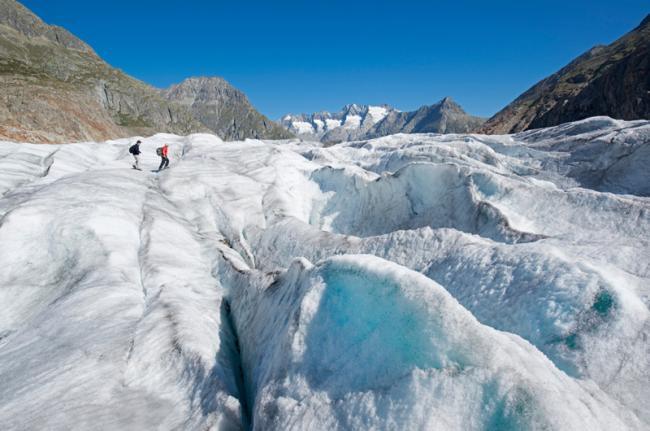 Glaciar Aletsch, Suiza