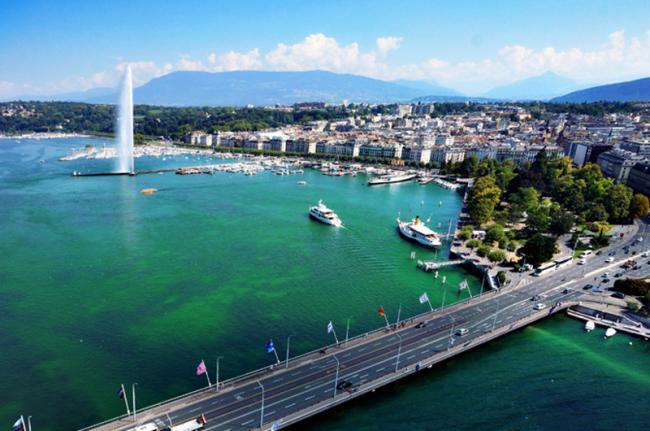 Lago Lemán, Suiza