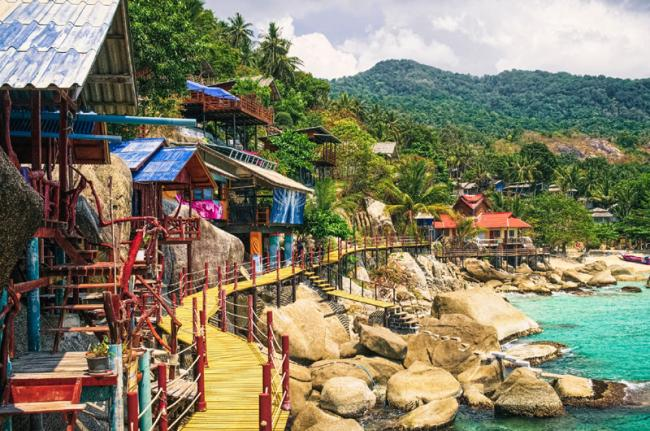 Ko Pha-Ngan, Tailandia