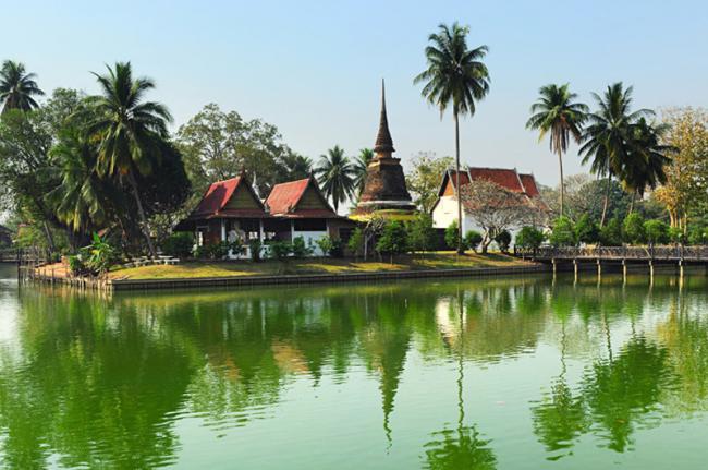 Parque Histórico de Sukhotai, Tailandia