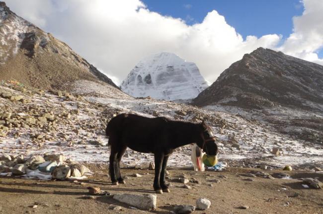 Monte Kailash, oeste del Tíbet