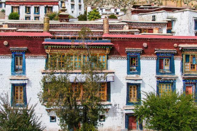 Monasterio de Drepung, Lhasa, Tíbet