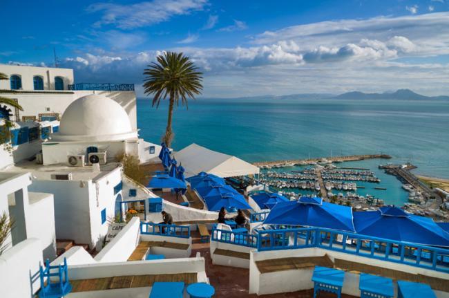 Sidi Bou Saïd, Túnez