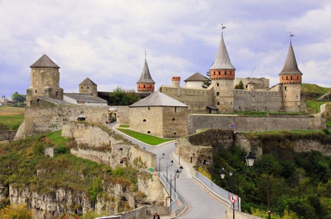 Fortaleza de Kamyanets-Podilsky, Ucrania