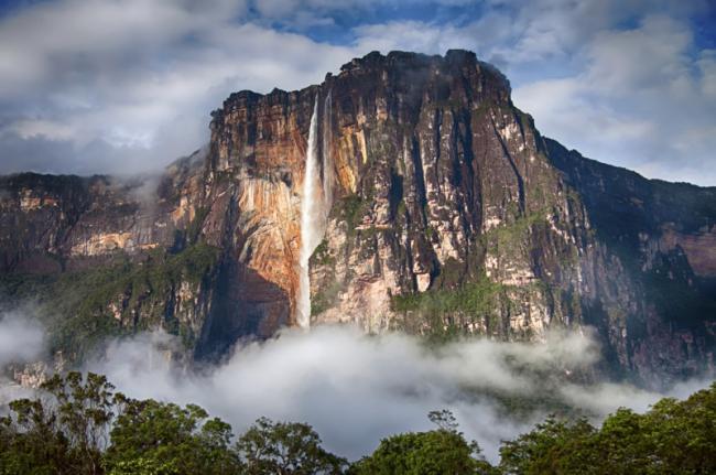 Salto Ángel, Parque Nacional Canaima, Venezuela