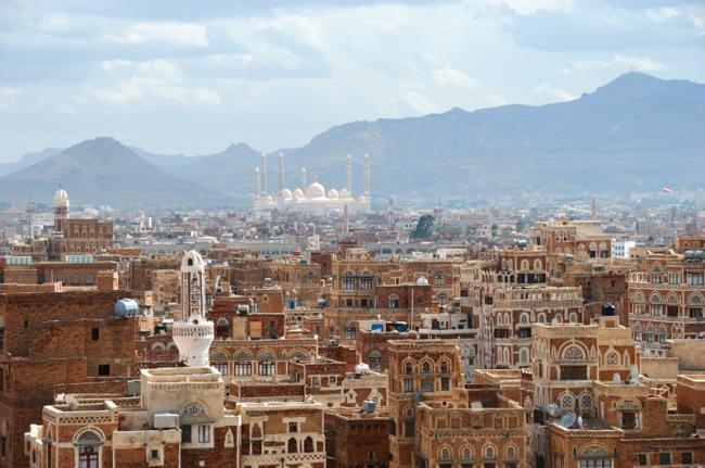 Ciudad vieja de Sanaa, Yemen