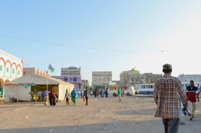 Plaza Rimbaud, Yibuti capital, Yibuti
